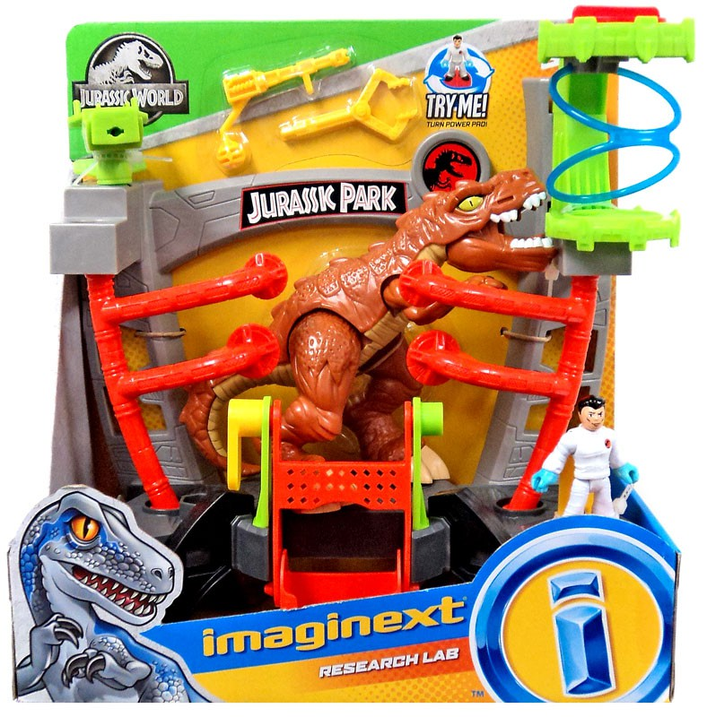 Fisher-Price Imaginext Jurassic World Research Lab Playset