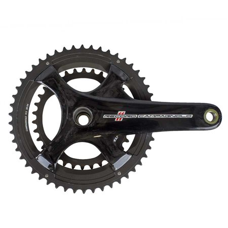 Campagnolo 2015 Record Carbon Ultra-Torque 11 Speed Double Compact 34/50 Crankset 175mm Campagnolo Record Ultra Torque Carbon