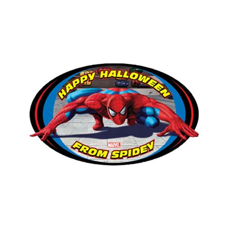 Spider-Man 3 New Spiderman Halloween Decor  Door - Male Names Associated With Halloween
