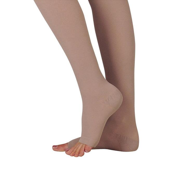 Juzo 3511 Dynamic (Varin) Soft Open Toe Thigh Highs w/Waist Att. LFT 20-30 mmHg  Short JUZO3511AGHAL-P