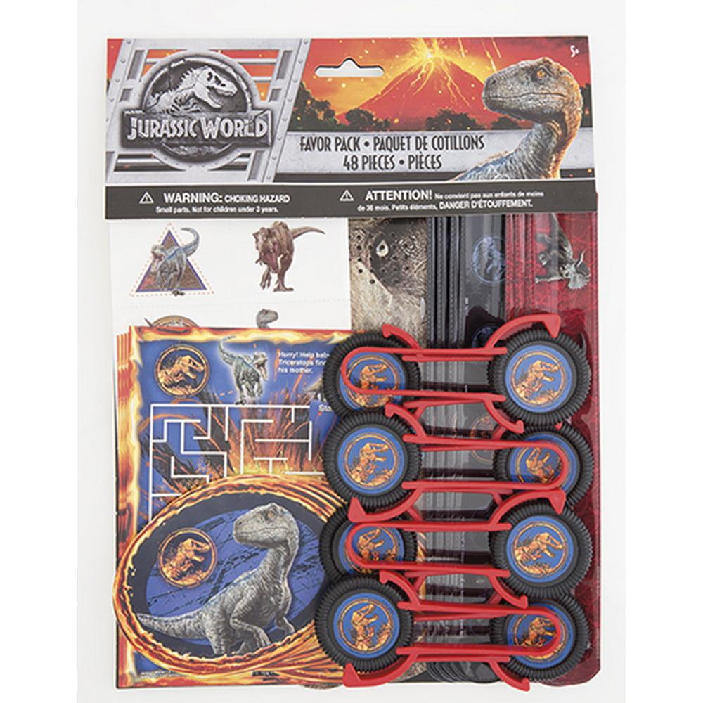 Jurassic World: Fallen Kingdom Favor Pack (48 Count)