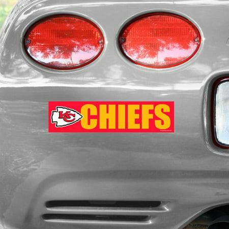 Kansas City Chiefs WinCraft Bumper Sticker