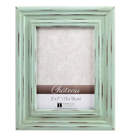 Timeless Frames Chateau Distressed Picture Frame - Sea Green - 5 in x 7 in