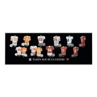 Winning Streak - NFL Uniform Plaque, Tampa Bay Buccaneers