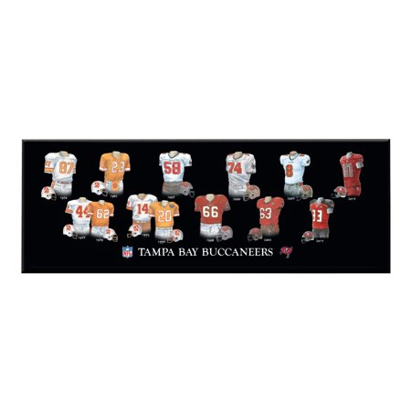 Winning Streak - NFL Uniform Plaque, Tampa Bay Buccaneers (Tampa Bay Buccaneers Computer)