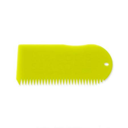 Sex Wax Surf Board Wax Comb Yellow Mr  Zogs