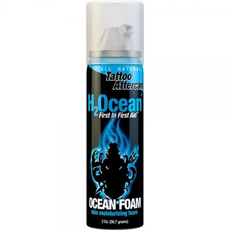 H2Ocean Ocean Foam Tattoo Aftercare, 2 Ounce (Ocean Themed Tattoos)