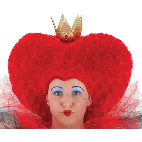 Disney Red Queen Alice in Wonderland Hat Adult Halloween Accessory