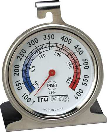 TRUTEMP Oven Thermometer,100 to 600F 3506 by Taylor