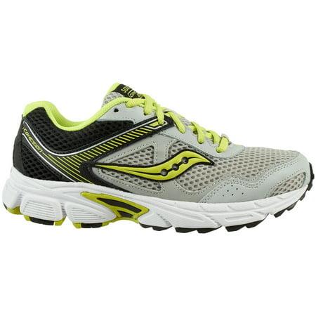 a861b5e686de Saucony - Saucony Kids  Grade School Cohesion 10 Running Shoes (Grey Green