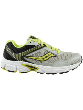 23080c0cfdf2 Product Image Saucony Kids  Grade School Cohesion 10 Running Shoes (Grey Green