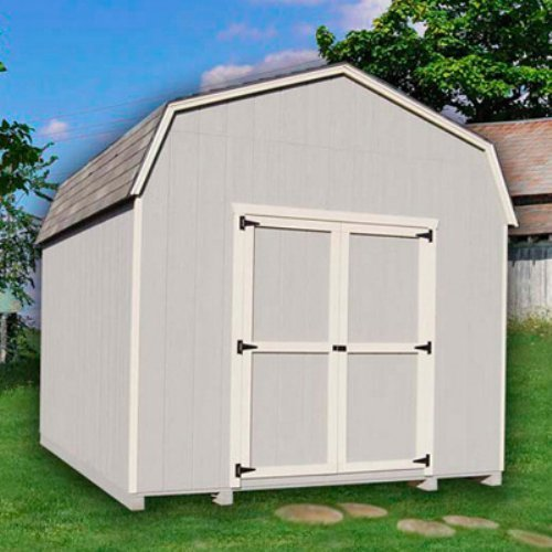 Little Cottage 24 x 12 ft. Value Gambrel Barn Precut Storage Shed - 6 ft. Barn