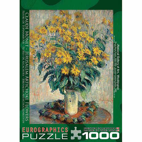 EuroGraphics Jerusalem Artichoke by Claude Monet 1000-Piece Puzzle
