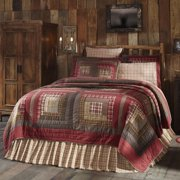 Rustic & Lodge Bedding Tacoma Red Quilt