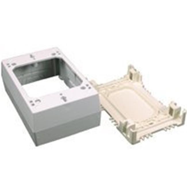 Wiremold NM3 Plastic Deep Switch - Outlet Box - image 1 de 1