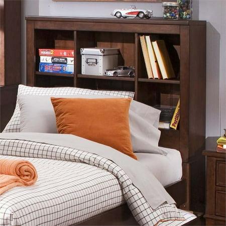Liberty Chelsea Square - Liberty Furniture Chelsea Square Full Bookcase Headboard in Tobacco