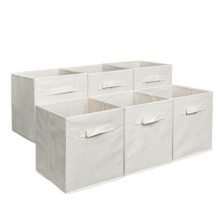 Ktaxon Storage Cube Basket Fabric Drawers Best Cubby Organizer Box Bin 6
