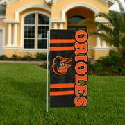 Baltimore Orioles 18'' x 10'' Cut-Out Applique Garden Flag - No Size