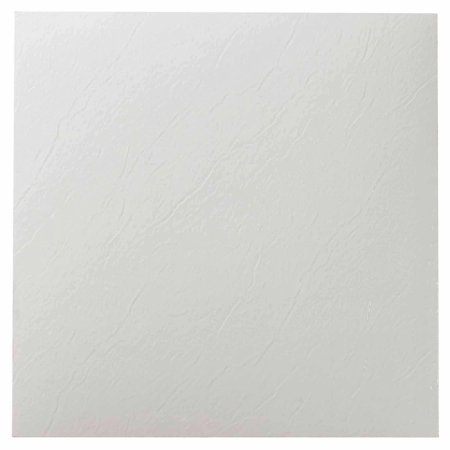 Nexus White 12 Quot X 12 Quot Self Adhesive Vinyl Floor Tile