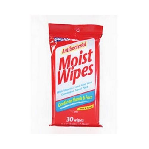 Ddi 30 Ct Antibacterial Peel Wipes