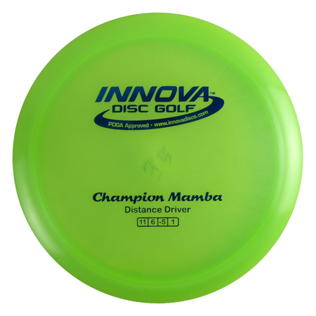 Innova Champion Mamba 173-175g Distance Driver Golf Disc [Colors may vary] - 173-175g