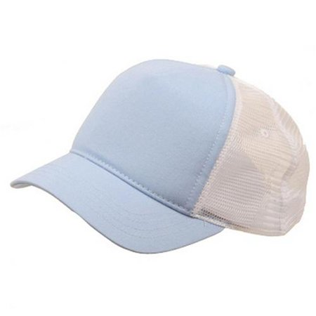 3516b521e Short Bill Trucker Cap-Blue White