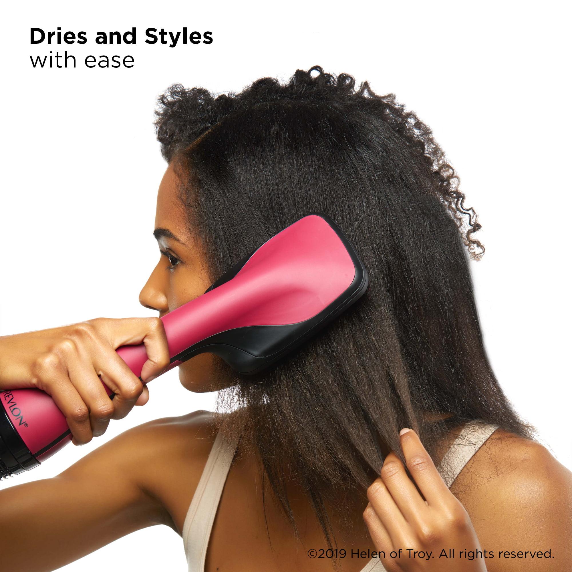 Revlon One-Step Hair Dryer and Styler, Black Blow Dryer - Walmart.com -  Walmart.com