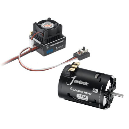 Hobbywing HWI38020240 XR10 Justock ESC with Justock 3650 SD