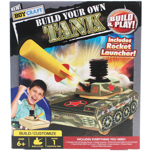 Boy Craft Build Your Own Tank by Horizon Group USA