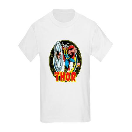 CafePress - The Mighty Thor Hammer - Kids Light T-Shirt (Thor Kids Hammer)