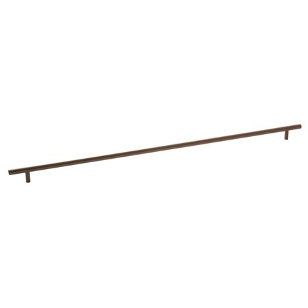 Bar Pulls 25-3/16 in (640 mm) Center-to-Center Caramel Bronze Cabinet Pull ()