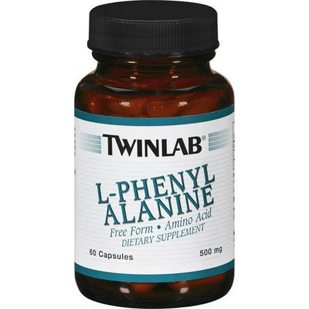 Twinlab L-Phenyl Alanine Capsules, 60 Ct (Twinlabs Amino Fuel Liquid)