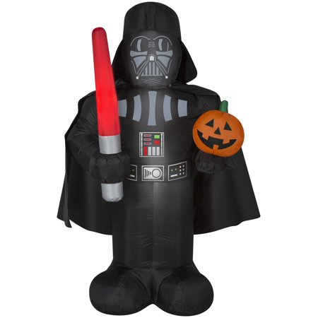 Pumpkin Halloween Snacks (5' Star Wars Darth Vader w/ Pumpkin Halloween)