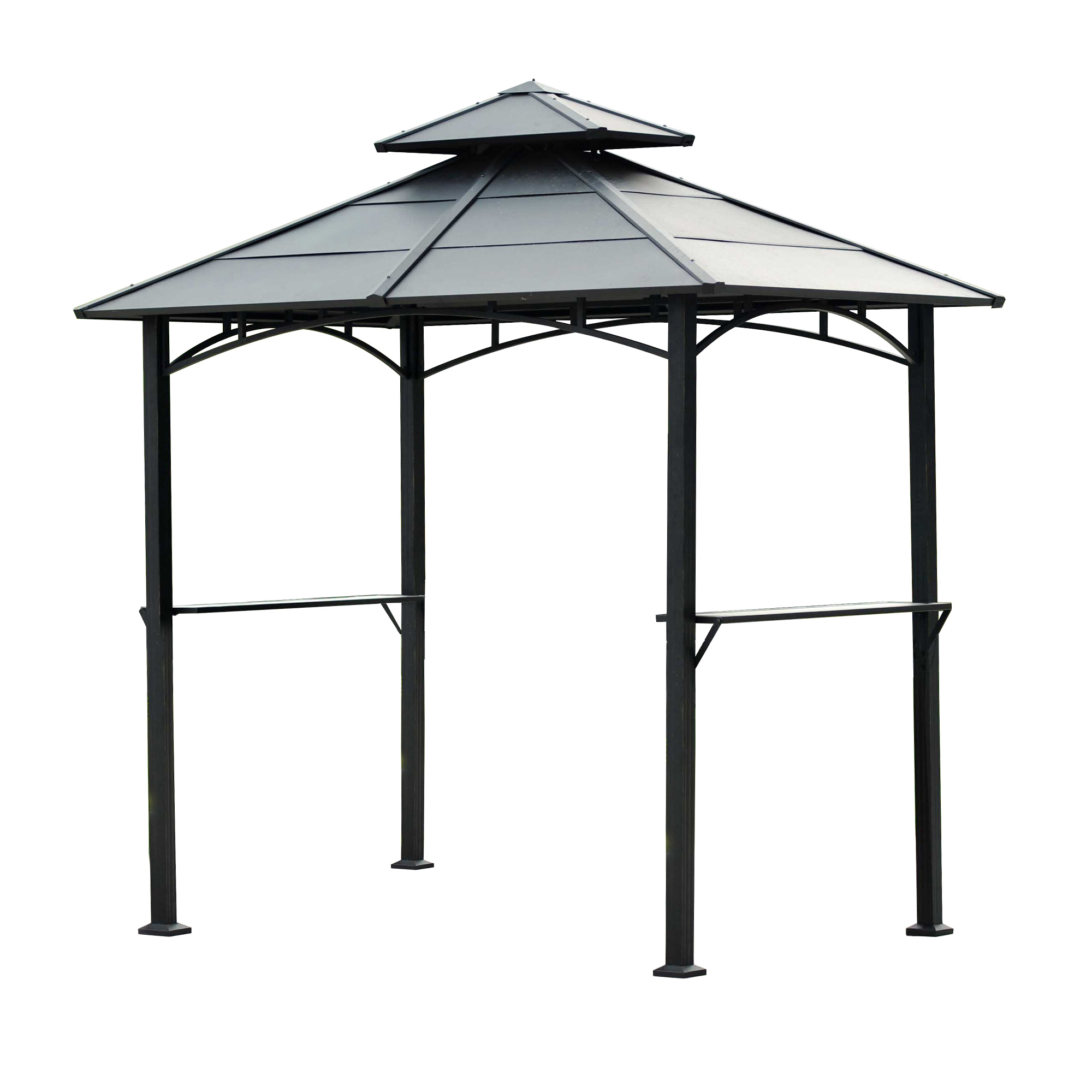 Sunjoy Harper Hard Top Grill Gazebo
