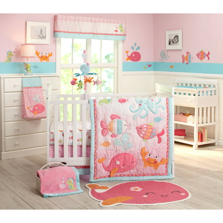 Carter's Sea 4pc Crib Bedding Set
