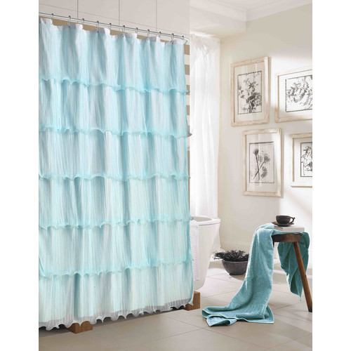 Dainty Home Lily Shower Curtain