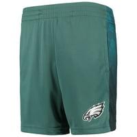 Youth Midnight Green Philadelphia Eagles Mesh Shorts