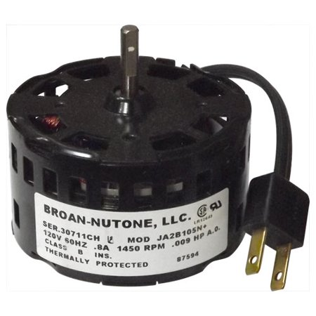 Nutone Replacement Fan Motor For Model 671r 87594000