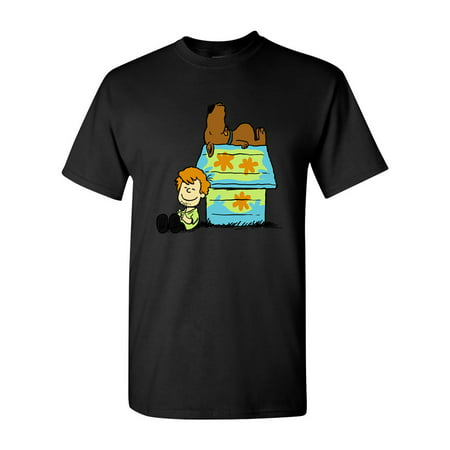 Scoopy Dog Cartoon Movie Salih Gonenli Artworks Funny DT Adult T-Shirt Tee](Funny Rat Cartoon)