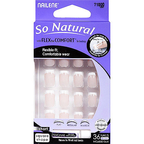 Nailene So Natural Artificial Nails