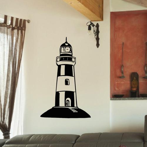 Stickalz llc Lighthouse Vinyl Wall Art Decal Sticker