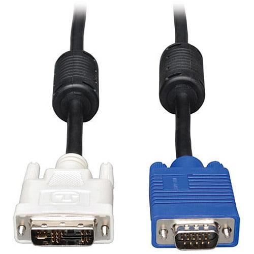 Tripp Lite DVI to VGA Cable, 3'