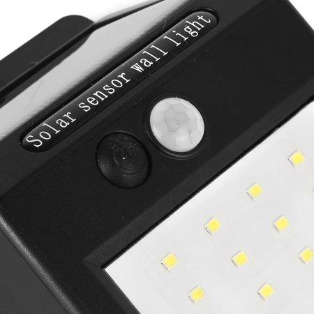 3Pcs LED Solar Light PIR CDS Motion Sensor Lamp 16 LEDs 80lm Waterproof Wireless - image 5 of 8