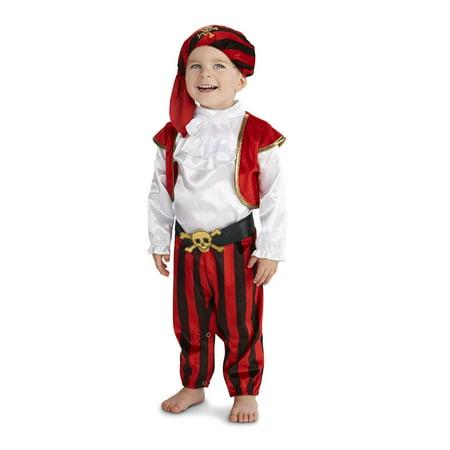 Pirate Captain Infant Costume