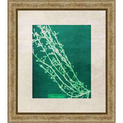 PTM Images Emerald Coral IV Gicl e Framed Graphic Art