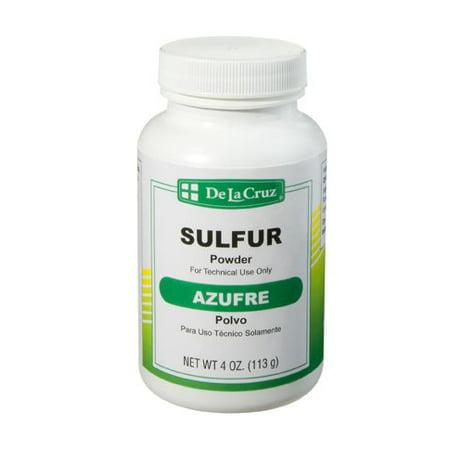 UPC 024286158705 - De La Cruz Sulfur Powder 4 oz  - pack of