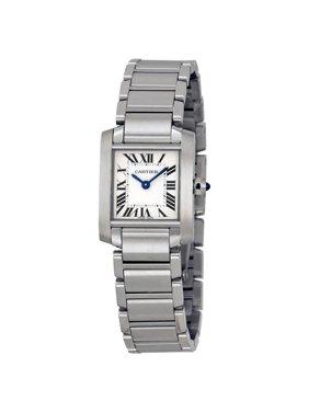 Cartier Tank Francaise Steel Ladies Watch W51008Q3