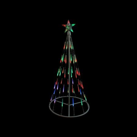 Northlight Seasonal Single Tier Bubble Cone Christmas Tree Lighted Yard Art - Bubble Christmas Tree Lights