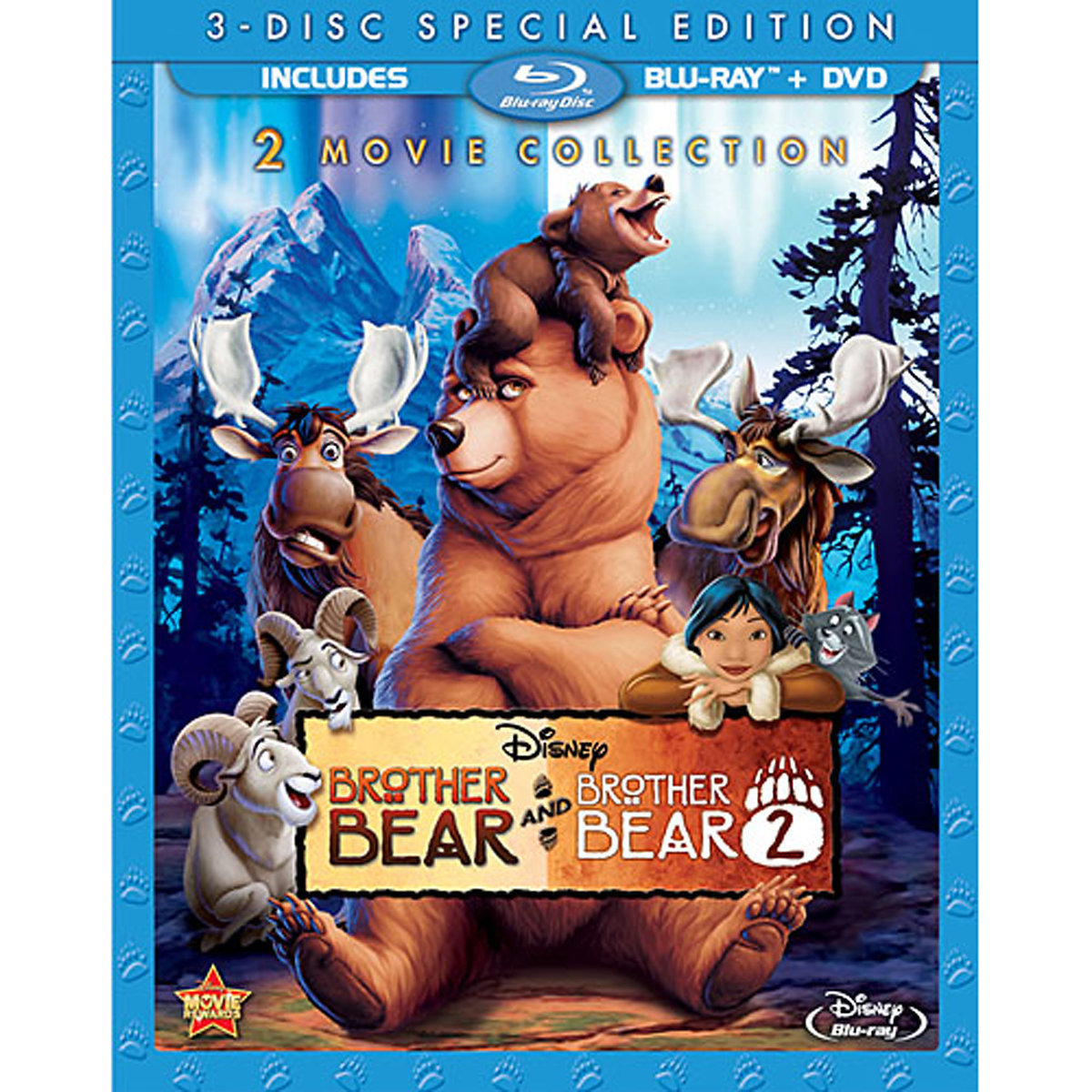 Brother Bear 2 Movie Collection (Blu-ray + DVD) by DISNEY/BUENA VISTA HOME VIDEO