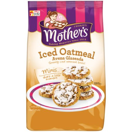 Mother's Cookies, Iced Oatmeal Bites (Pack of (Mothers Oatmeal)